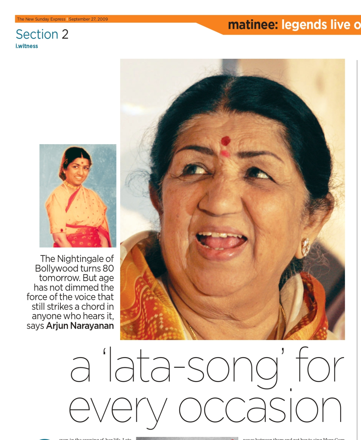 There is a Lata Mangeshkar song for every occasion