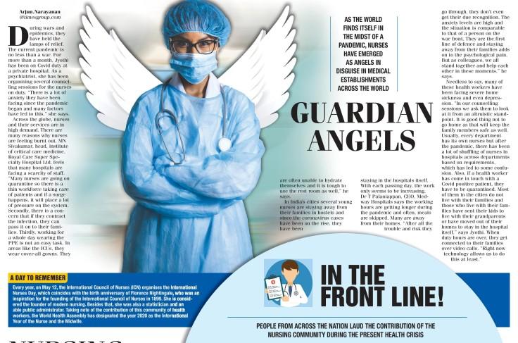 Nurses DAy TOI Story 2020